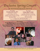 Exclusive Spring Concert